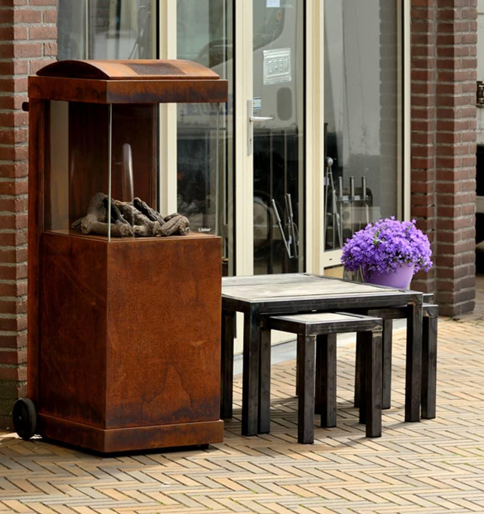 Tafel & stoelen - handgemaakt - Houtkachel - Kuijt Kachels en Haarden